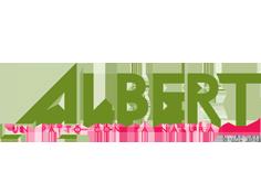 Albert logo links
